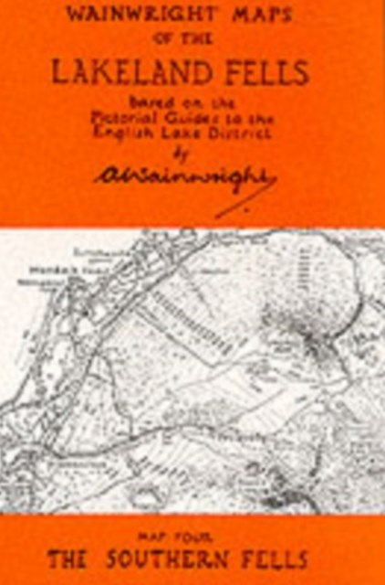 Wainwright Maps of the Lakeland Fells: Southern Fells