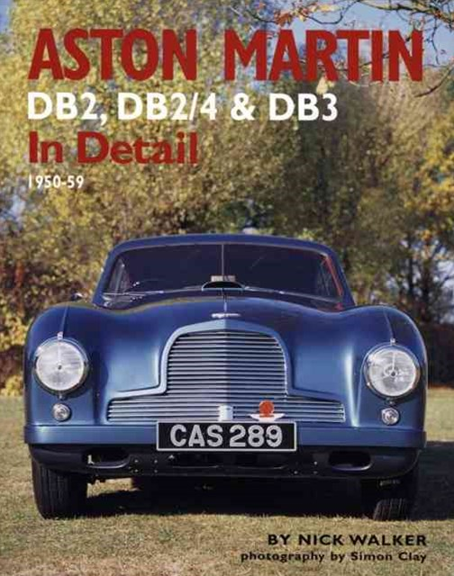 Aston Martin DB2, DB2/4 and DB3 in Detail
