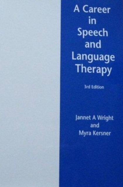 Career in Speech and Language Therapy