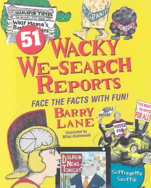 51 Wacky We Search Reports