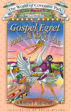Gospel Egret Points the Way to Jesus
