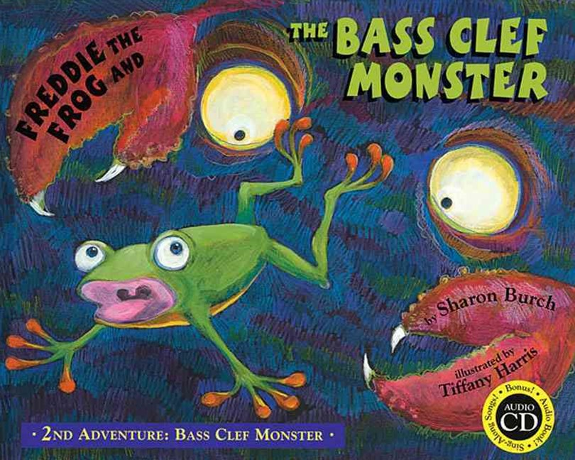 Freddie the Frog and the Bass Clef Monster