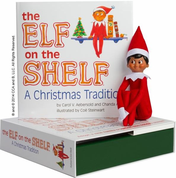 The Elf on the Shelf: A Christmas Tradition - Boy Dark Skin