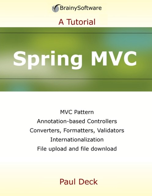 (ebook) Spring MVC: A Tutorial