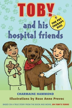 Toby the Pet Therapy Dog and His Hospital Friends