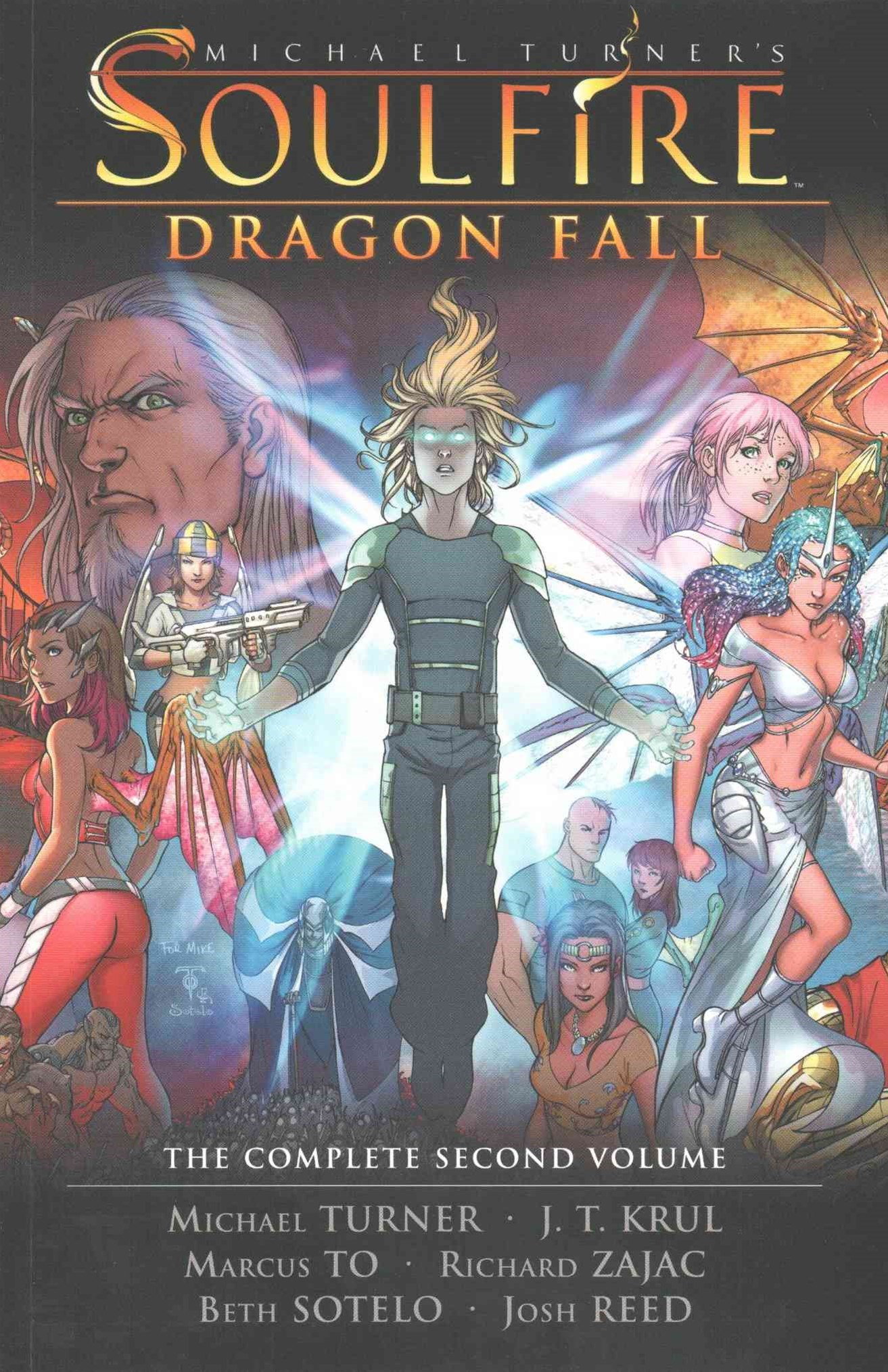 Michael Turner Soulfire: Dragon Fall