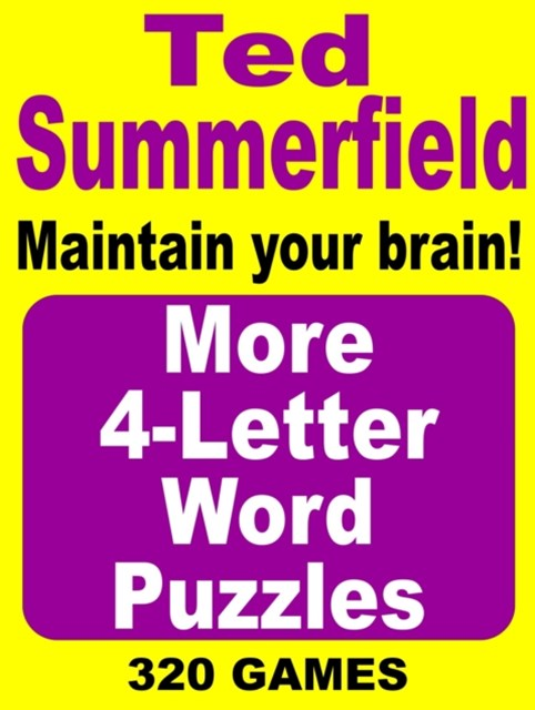 (ebook) More 4-Letter Word Puzzles. Vol. 2