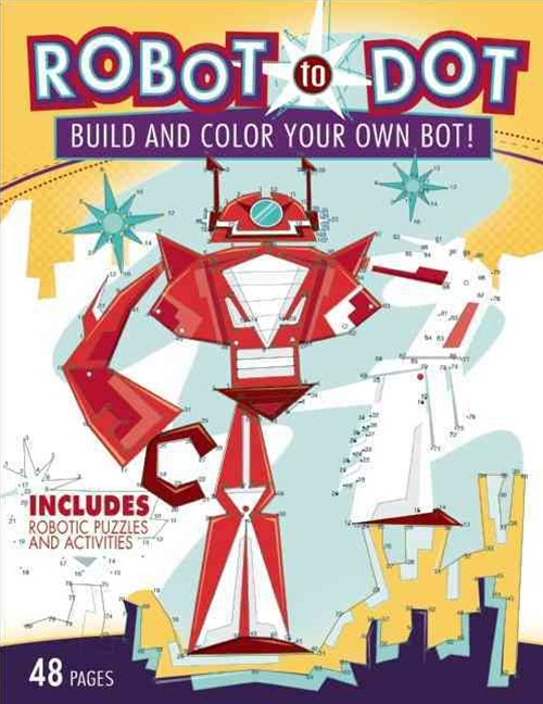 Robot-to-Dot Activity Book