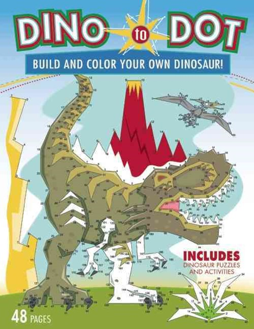Dino-to-Dot Activity Book