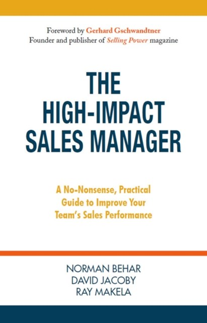 High-Impact Sales Manager
