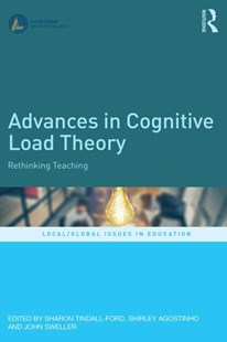 (ebook) Advances in Cognitive Load Theory - Education Trade Guides