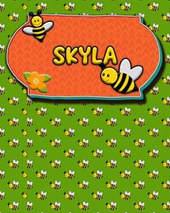 Handwriting Practice 120 Page Honey Bee Book Skyla by Buzz Schultz (9781070648545) - PaperBack - Education