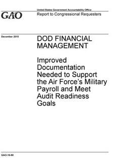 Dod Financial Management by U S Government Accountability Offi Gao (9781072510123) - PaperBack - Art & Architecture General Art