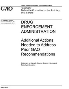 Drug Enforcement Administration by U S Government Accountability Offi Gao (9781072514732) - PaperBack - Art & Architecture General Art