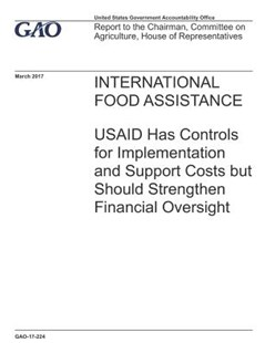 International Food Assistance by U S Government Accountability Offi Gao (9781073373345) - PaperBack - Art & Architecture General Art
