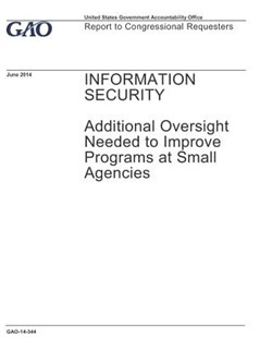 Information Security by U S Government Accountability Offi Gao (9781073870059) - PaperBack - Art & Architecture General Art