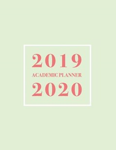 2019-2020 Academic Planner by Pop Academic (9781095237427) - PaperBack - Art & Architecture Architecture