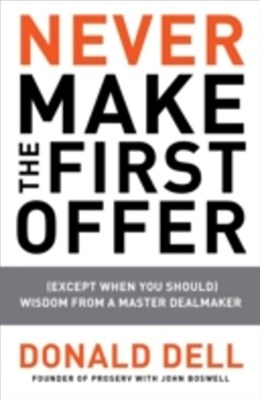 (ebook) Never Make the First Offer