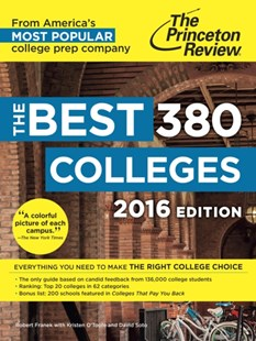 (ebook) Best 380 Colleges, 2016 Edition - Education Tertiary