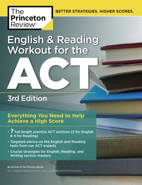 (ebook) English and Reading Workout for the ACT, 3rd Edition