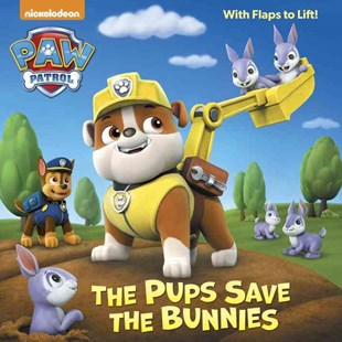 The Pups Save the Bunnies (Paw Patrol) by Ursula Ziegler Sullivan, Mike Jackson (9781101931684) - PaperBack - Children's Fiction Intermediate (5-7)