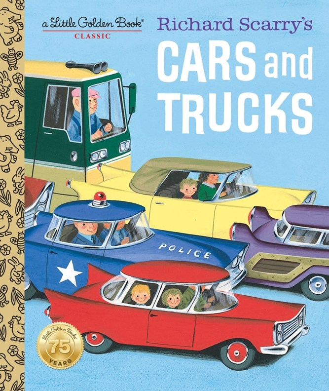 LGB Richard Scarry's Cars And Trucks