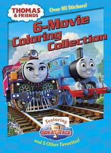 Thomas and Friends 6-Movie Coloring Collection by Jim Durk, Jim Durk (9781101940198) - PaperBack - Children's Fiction Intermediate (5-7)