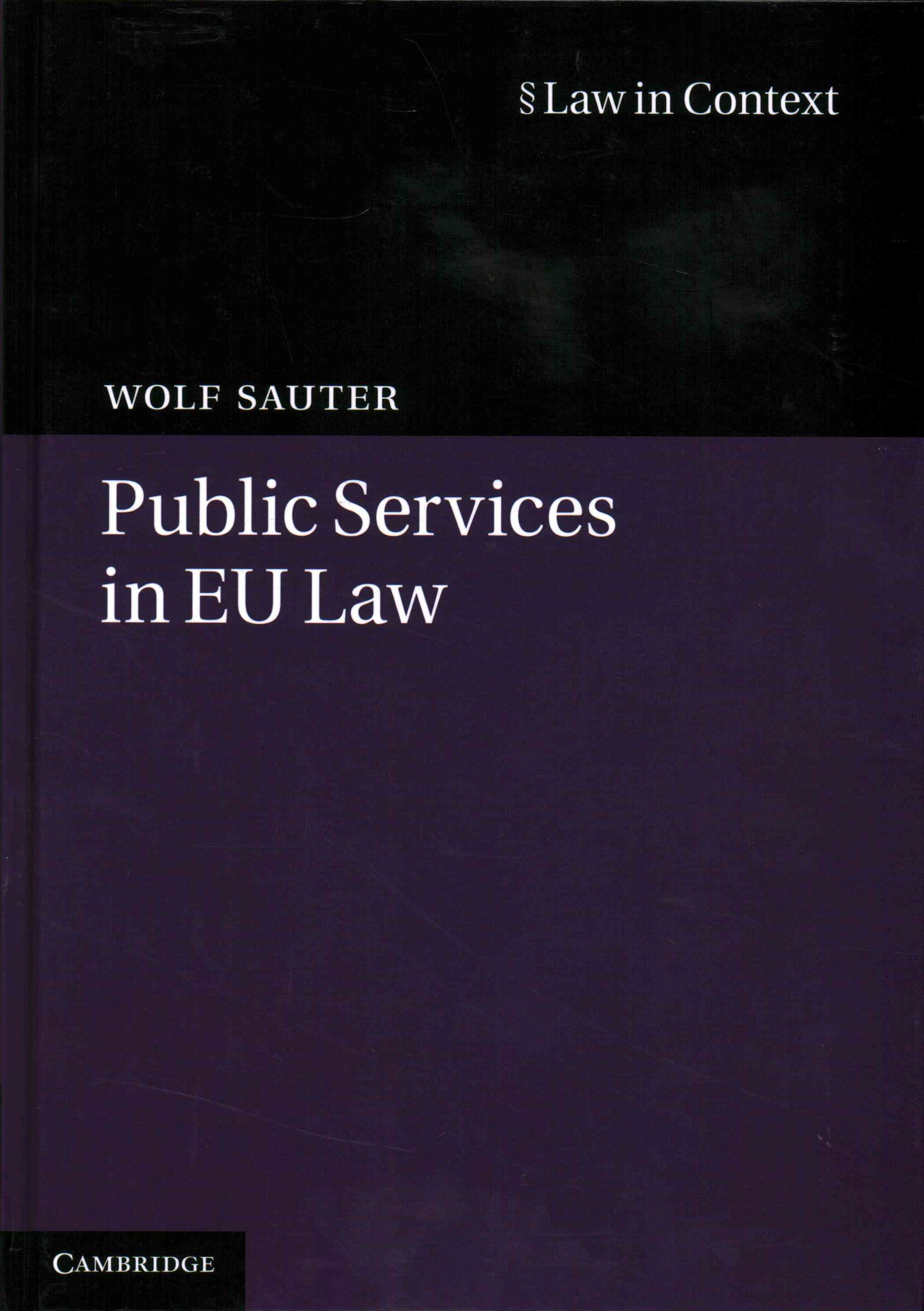 Public Services in EU Law