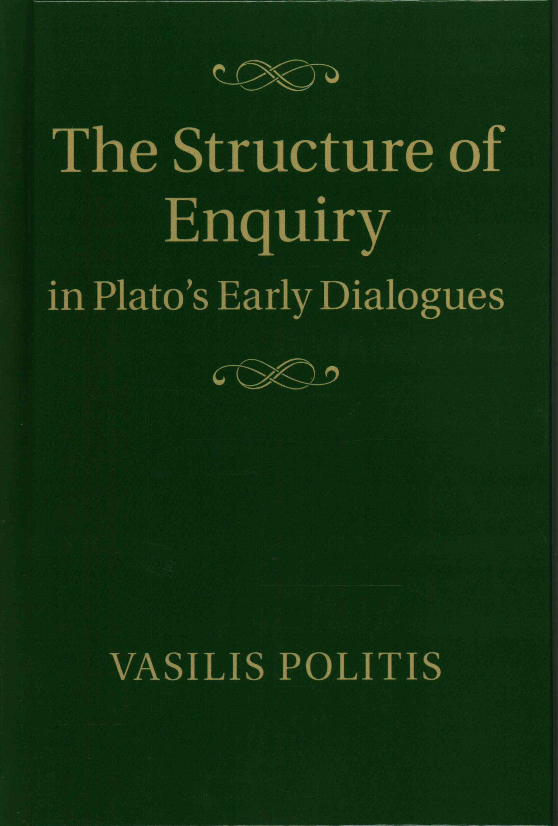 The Structure of Enquiry in Plato's Early Dialogues