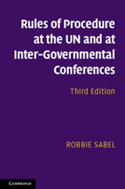 Rules of Procedure at the UN and at Inter-Governmental Conferences
