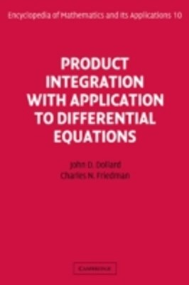 (ebook) Product Integration with Application to Differential Equations