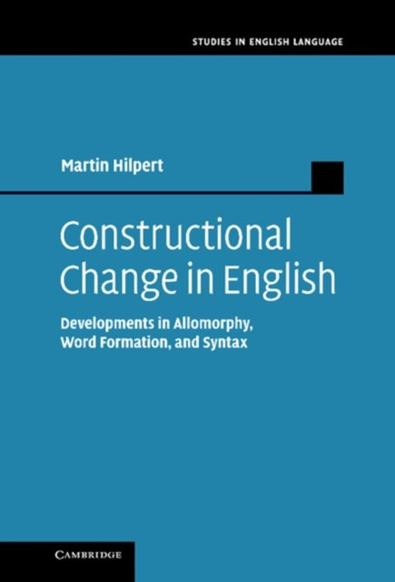 (ebook) Constructional Change in English