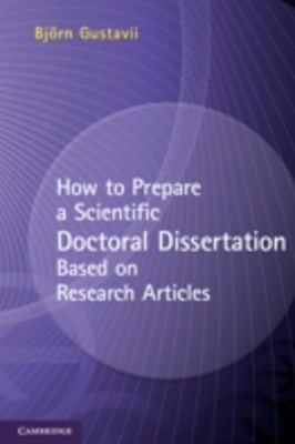 (ebook) How to Prepare a Scientific Doctoral Dissertation Based on Research Articles