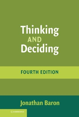 (ebook) Thinking and Deciding