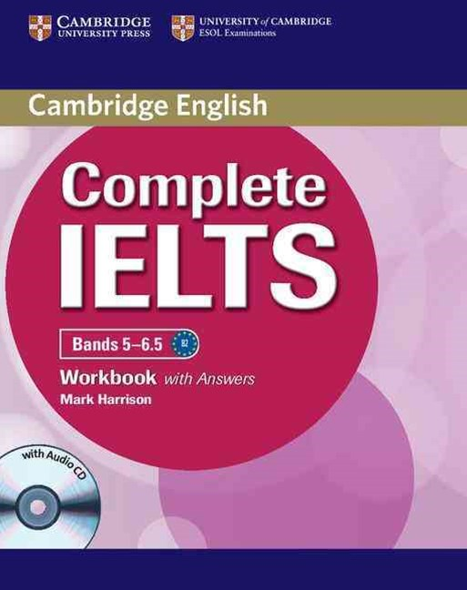 Complete IELTS Bands 5-6. 5 Workbook with Answers with Audio CD
