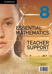 Essential Mathematics for the Australian Curriculum Year 8 2ed Teacher Support Print Option