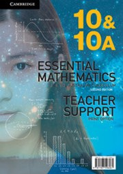 Essential Mathematics for the Australian Curriculum Year 10 2ed Teacher Support Print Option