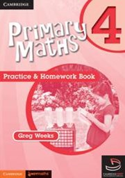 Primary Maths Practice and Homework Book 4 and Cambridge HOTmaths Bundle