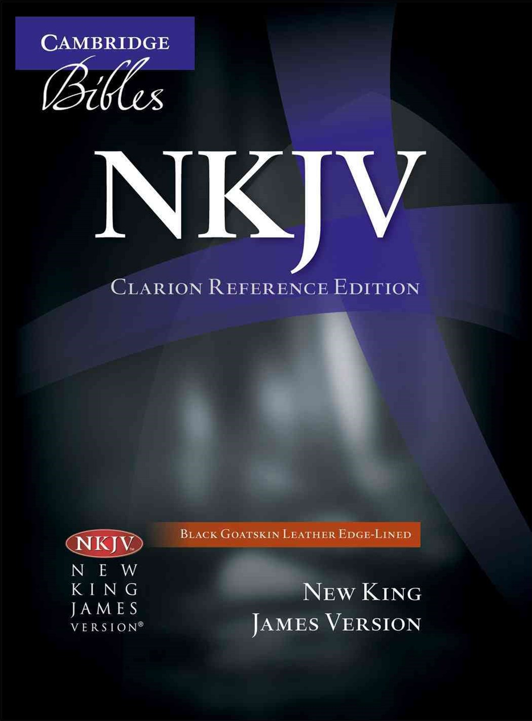 NKJV Clarion Reference Bible NK486:XE Black Goatskin Leather