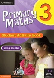 Primary Maths Student Activity Book 3 and Cambridge HOTmaths Bundle
