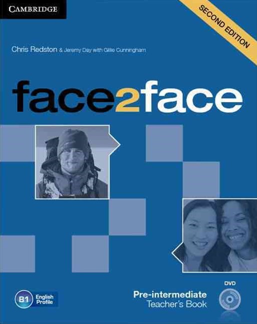 face2face Pre-intermediate Teacher's Book with DVD
