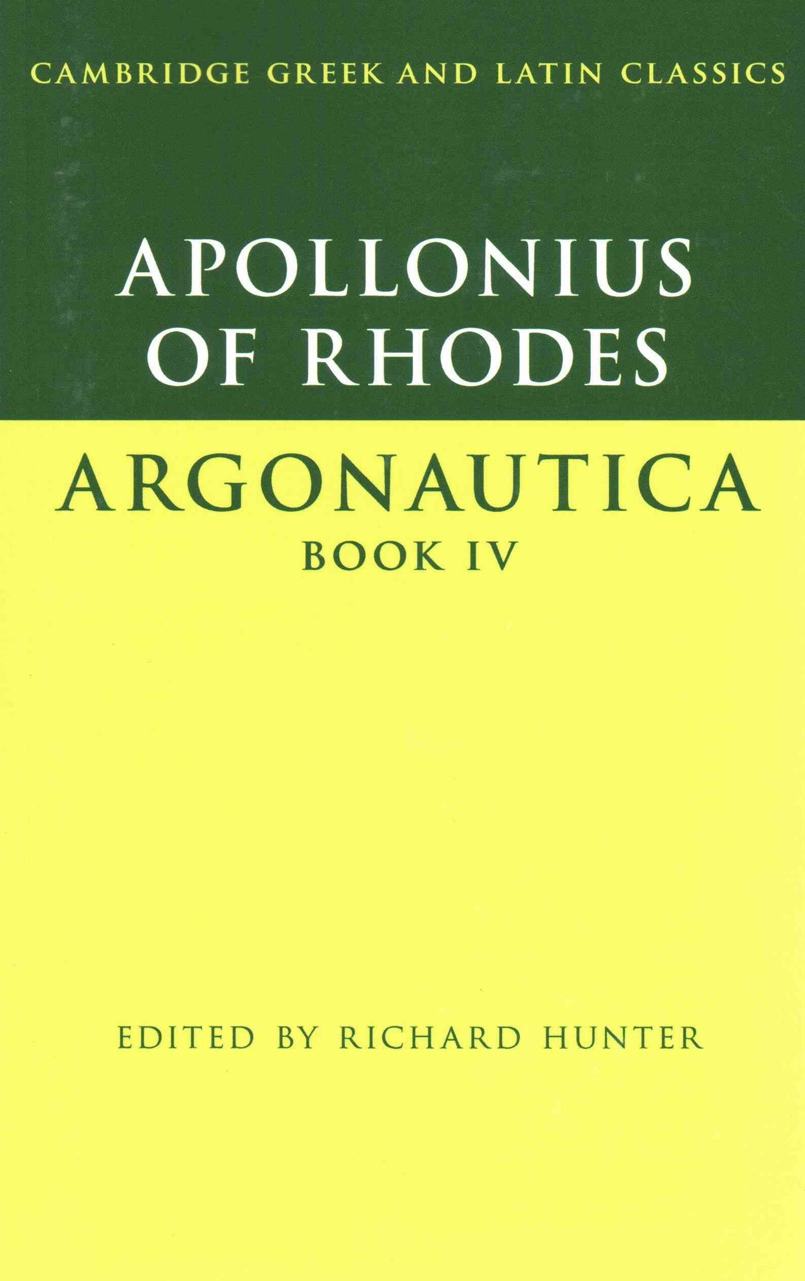 Apollonius of Rhodes: Argonautica Book IV