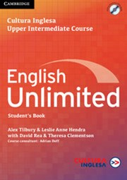 English Unlimited Upper Intermediate Coursebook with e-Portfolio Cultura Inglesa Rio Edition