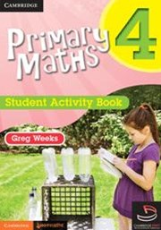 Primary Maths Student Activity Book 4 and Cambridge HOTmaths Bundle