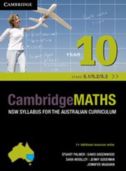 Cambridge Mathematics NSW Syllabus for the Australian Curriculum Year 10 5.1, 5.2 and 5.3 and Hotmaths Bundle
