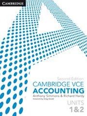 Cambridge VCE Accounting Units 1 and 2 Bundle