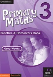 Primary Maths Practice and Homework Book 3 and Cambridge HOTmaths Bundle