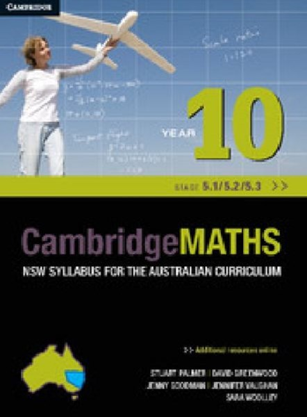 Cambridge Mathematics NSW Syllabus for the Australian Curriculum Year 10 5. 1, 5. 2 And 5. 3