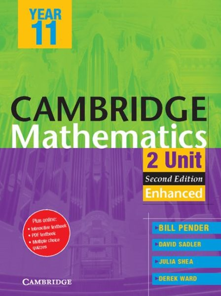 Cambridge 2 Unit Mathematics Year 11 Enhanced Version PDF Textbook