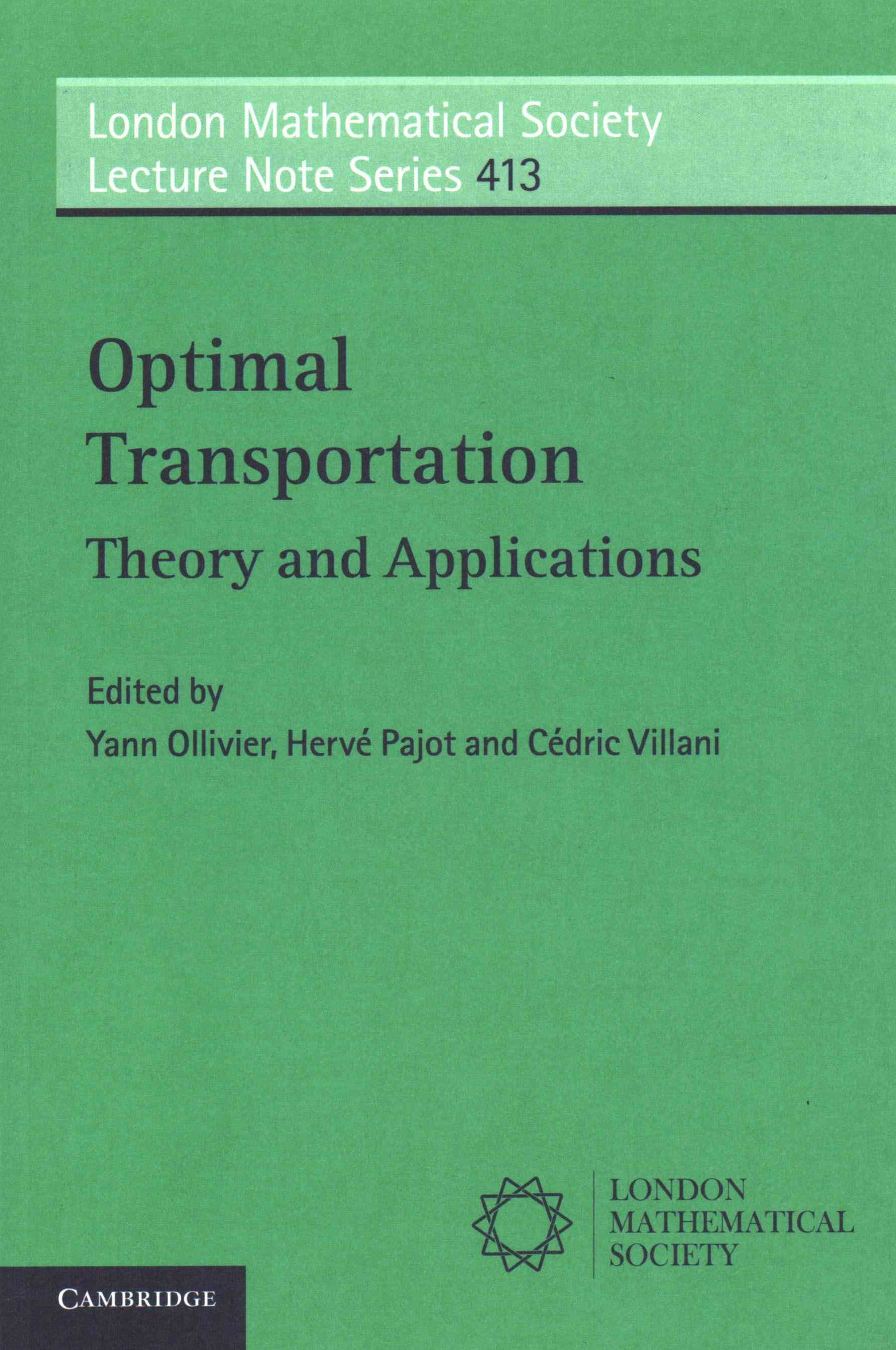 Optimal Transport